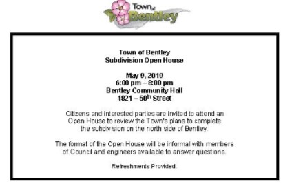 Notice of Open House May 9 2019 subdivision.jpg